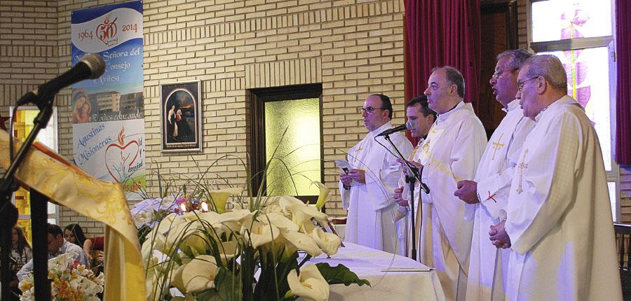 Eucaristía 26 de Abril 50 aniversario Agustinas Misioneras Avilés
